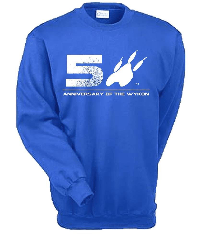 50th anniversary crew neck 2